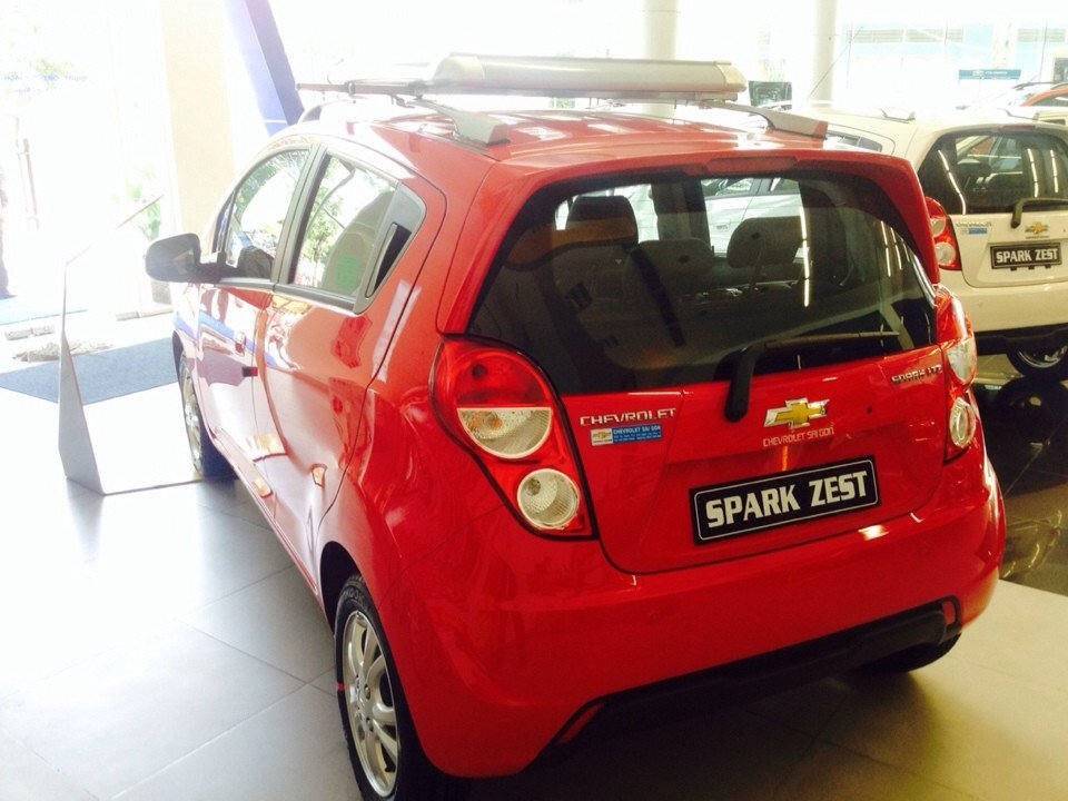 Chevrolet Spark đời 2015 xe đẹp nguyên bản-4