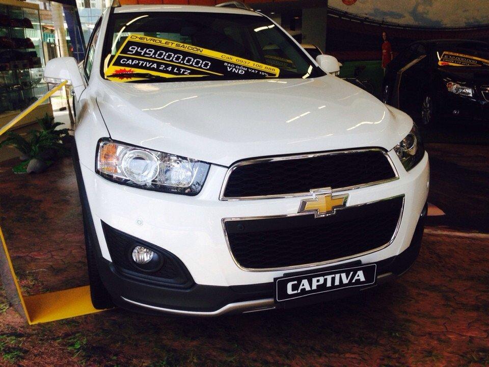 Bán ô tô Chevrolet Captiva đời 2015 xe đẹp-1