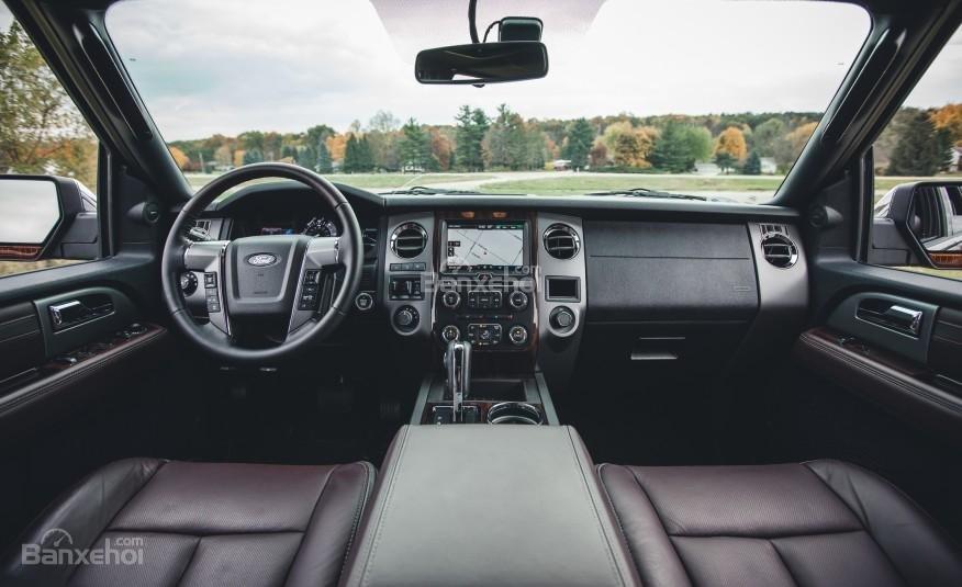 Đánh giá nội thất xe Ford Expedition 2016