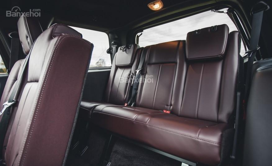 Đánh giá hàng ghế thứ 3 xe Ford Expedition 2016