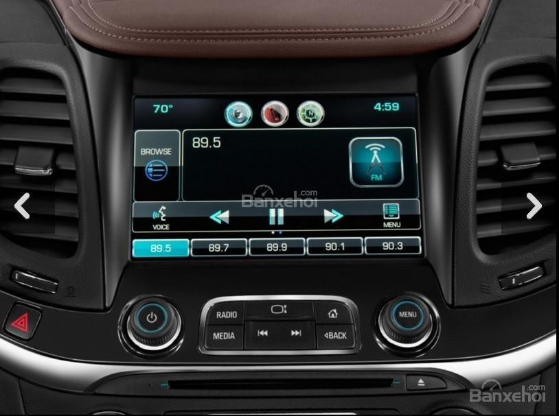 Đánh giá các tiện ích tích hợp trên xe Chevrolet Impala 2016