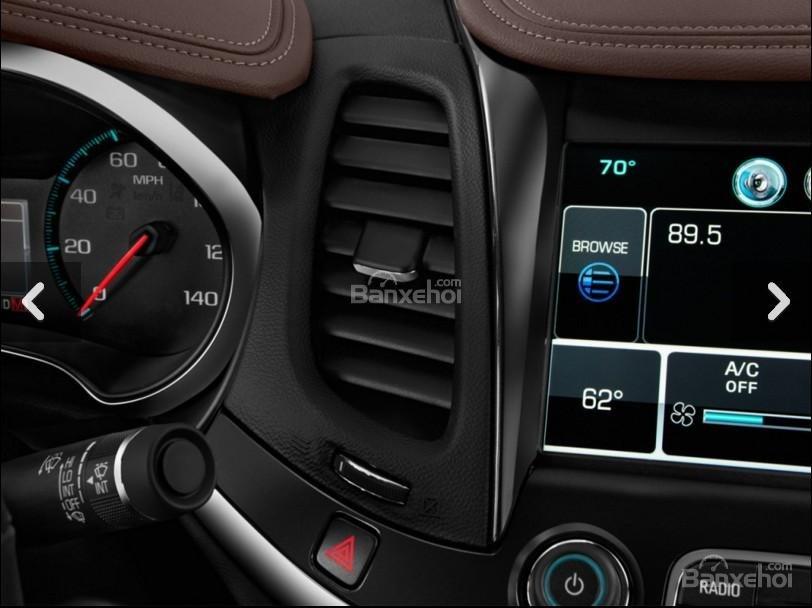 Đánh giá điều hòa xe Chevrolet Impala 2016