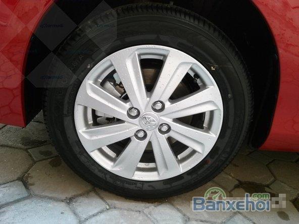Toyota Yaris 2015, bản E, động cơ 1.3L, số tự động, mầu đỏ, nhập khẩu nguyên chiếc Thailand-7