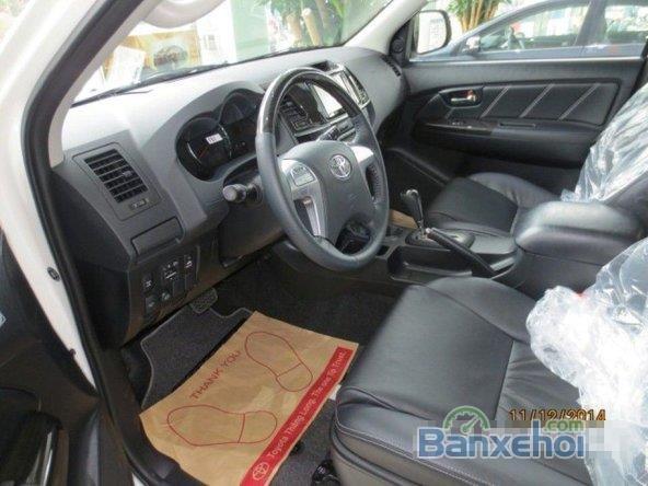 Bán xe Toyota Fortuner 2.7L FVS đời 2015, màu trắng, nhập khẩu chính hãng-4