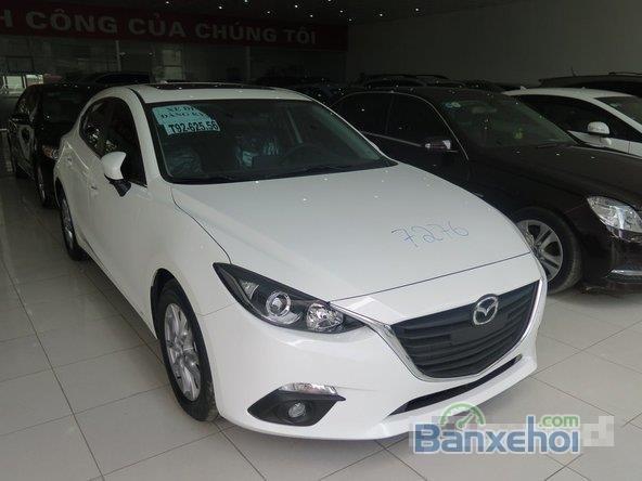 Xe Mazda 3 Skyactiv 2015 mới màu trắng đang được bán-0