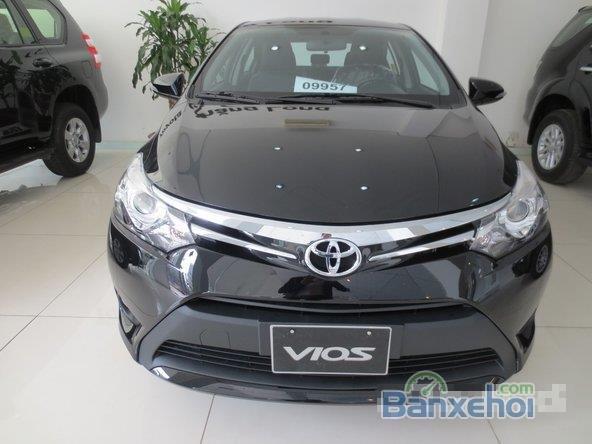 Cần bán xe Toyota Vios, màu đen giá tốt-0