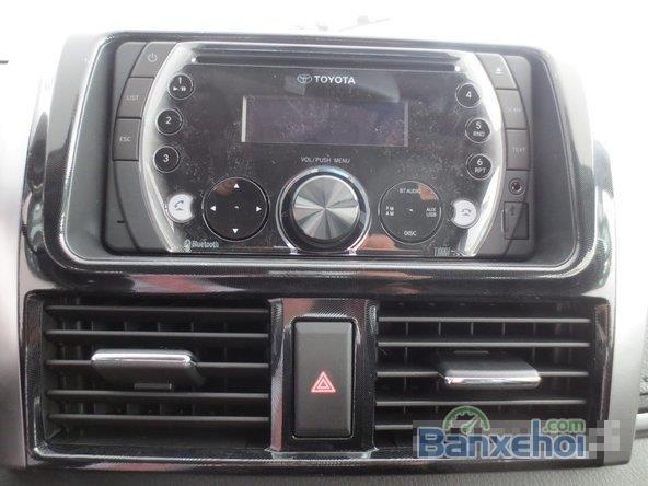Cần bán xe Toyota Vios, màu đen giá tốt-8