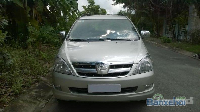 Cần bán gấp Toyota Innova MT đời 2006 đã đi 90000 km, xe đẹp-0