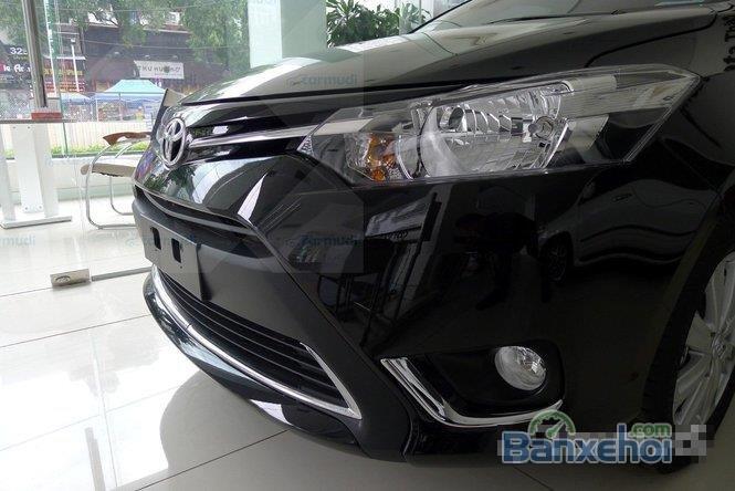 Bán Toyota Vios đời 2015, màu đen-3