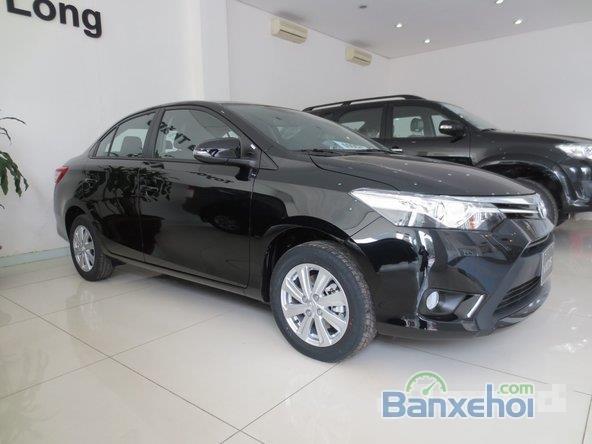 Cần bán xe Toyota Vios, màu đen giá tốt-3