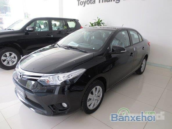 Cần bán xe Toyota Vios, màu đen giá tốt-1