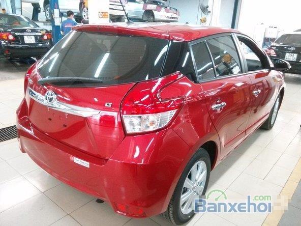 Toyota Yaris 2015, bản E, động cơ 1.3L, số tự động, mầu đỏ, nhập khẩu nguyên chiếc Thailand-5