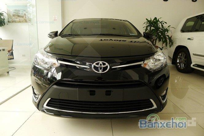 Bán Toyota Vios đời 2015, màu đen-0