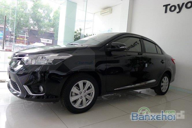 Bán Toyota Vios đời 2015, màu đen-1