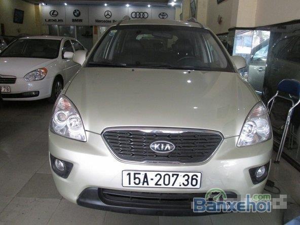 Xe Kia Carens 1.8 2012 cũ màu vàng đang được bán-0