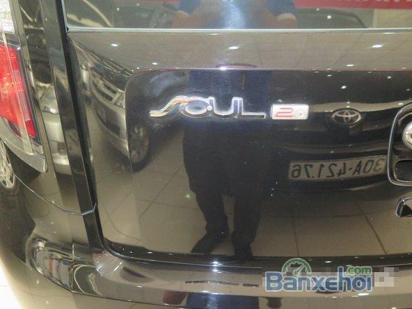 Cần bán gấp Kia Soul AT sản xuất 2008, màu đen -3