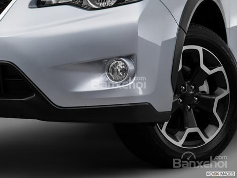Đánh giá xe Subaru XV Crosstrek 2015: Vị trí của đèn sương mù ngay phía dưới đèn pha