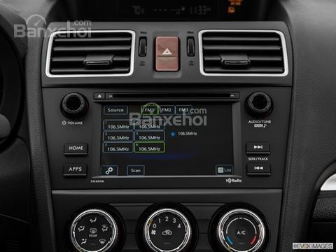 Đánh giá xe Subaru XV Crosstrek 2015: Bảng điều khiển