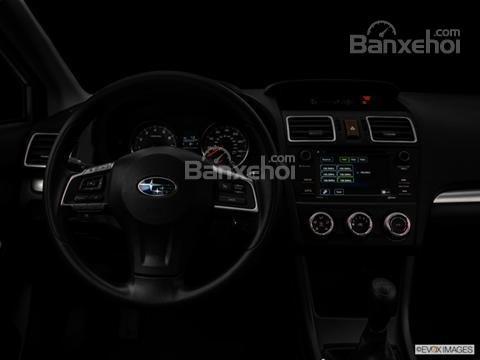 Đánh giá xe Subaru XV Crosstrek 2015: Thiết kế vô lăng cũng khá đơn giản