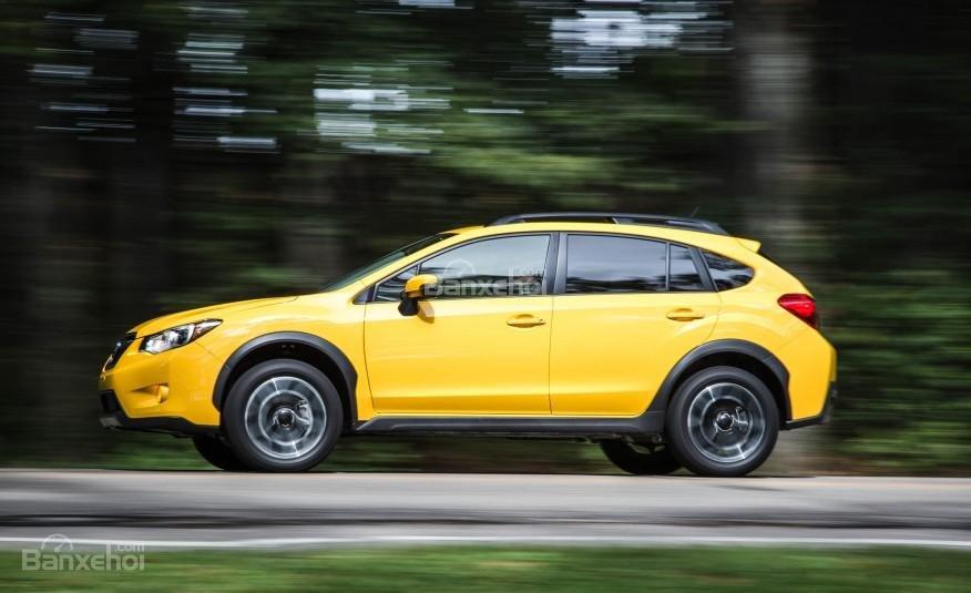 Đánh giá xe Subaru XV Crosstrek 2015: Xe có khả năng xử lý linh hoạt