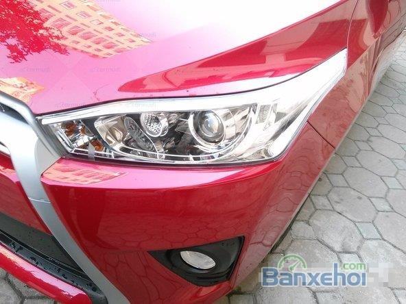 Toyota Yaris 2015, bản E, động cơ 1.3L, số tự động, mầu đỏ, nhập khẩu nguyên chiếc Thailand-6