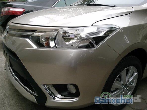 Cần bán xe Toyota Vios E - Mầu nâu vàng, sản xuất 2015 -4