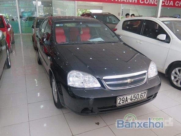 Xe Daewoo Lacetti 2011 cũ màu đen đang được bán-0