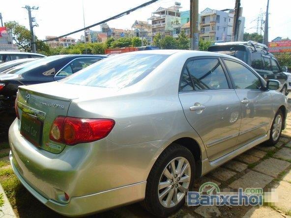 Chiếc Toyota Corolla Altis 2009 2.0G bạc đặc biệt này được bán với giá 645 tr-4