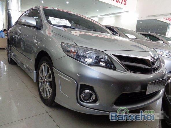 Xe Toyota Corolla Altis 2.0 2013 cũ màu bạc đang được bán-2