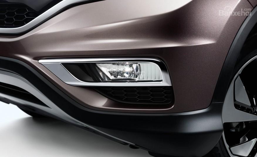 Đánh giá xe Honda CR-V 2016: Thiết kế của đèn sương mù cũng được giữ nguyên