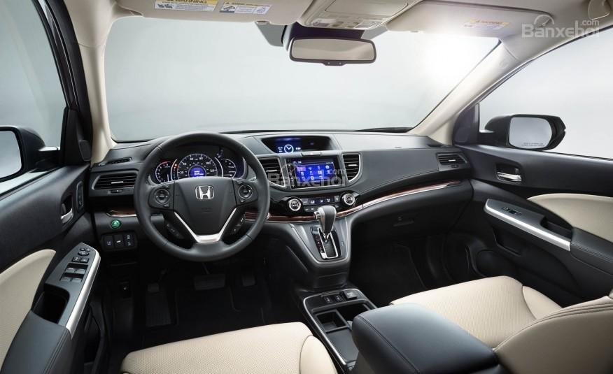 Đánh giá xe Honda CR-V 2016: Tầm nhìn của khá thoáng