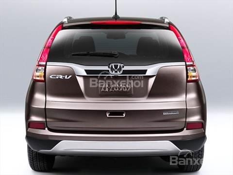 Đánh giá xe Honda CR-V 2016: Cửa sổ sau hình tam giác hướng lên trên