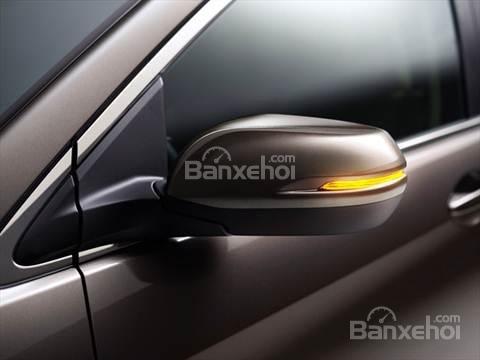 Đánh giá xe Honda CR-V 2016: Gương chiếu hậu được tích hợp công nghệ LED