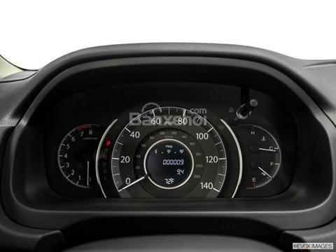 Đánh giá xe Honda CR-V 2016: Thiết kế của đồng hồ cũng khá đơn giản