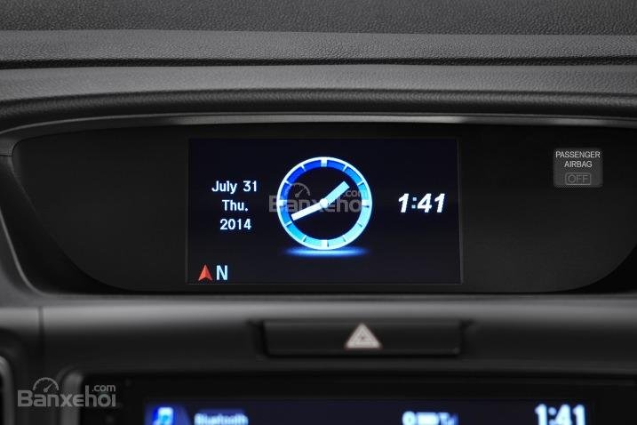Đánh giá xe Honda CR-V 2016: Nhiều chức năng hiện đại được nhà sản xuất cài đặt cho xe