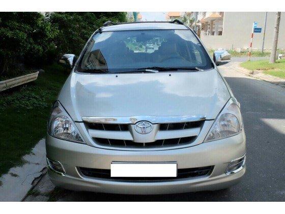 Cần bán lại xe Toyota Innova sản xuất 2006, màu bạc, xe nhập, 455 triệu-0