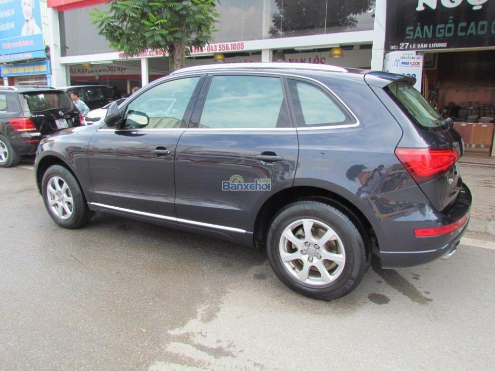 Cần bán xe Audi Q5 2-0T Premium Quattro đời 2012, màu xám, xe nhập-2