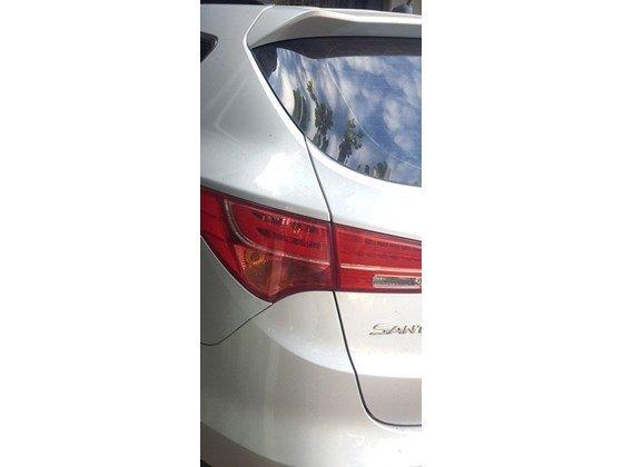 Cần bán lại xe Hyundai Santa Fe sản xuất 2013, màu trắng, xe nhập, xe gia đình-9