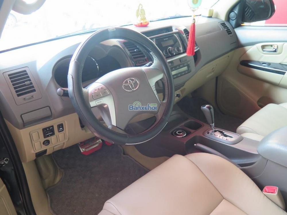 Cần bán lại xe Toyota Fortuner 2.7V 4x2 đời 2013, màu đen -8