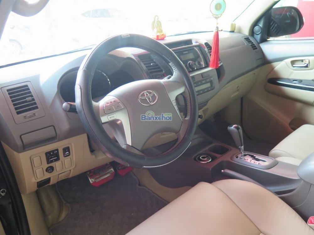 Cần bán lại xe Toyota Fortuner 2.7V 4x2 đời 2013, màu đen -10