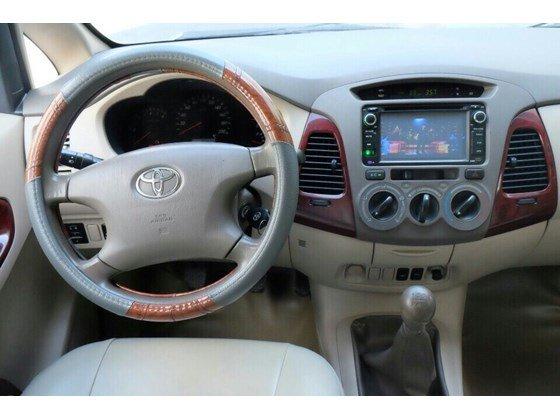 Cần bán lại xe Toyota Innova sản xuất 2006, màu bạc, xe nhập, 455 triệu-7