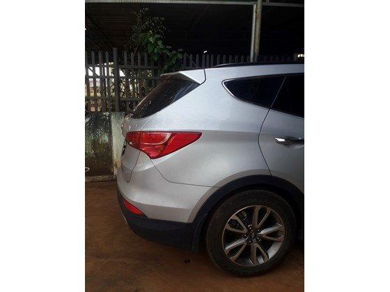 Cần bán lại xe Hyundai Santa Fe sản xuất 2013, màu trắng, xe nhập, xe gia đình-5