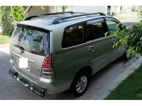 Cần bán lại xe Toyota Innova sản xuất 2006, màu bạc, xe nhập, 455 triệu-4