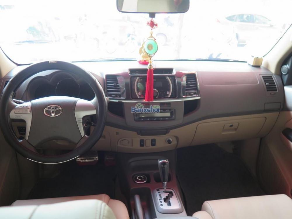 Cần bán lại xe Toyota Fortuner 2.7V 4x2 đời 2013, màu đen -11