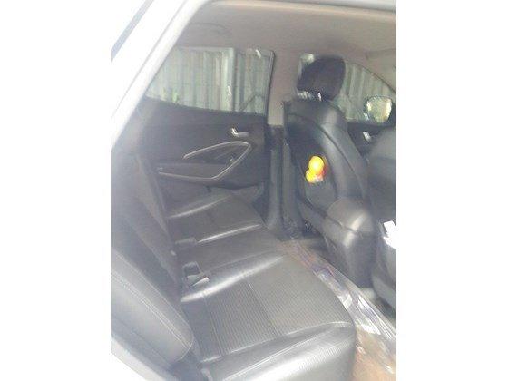 Cần bán lại xe Hyundai Santa Fe sản xuất 2013, màu trắng, xe nhập, xe gia đình-7