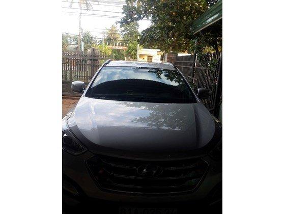 Cần bán lại xe Hyundai Santa Fe sản xuất 2013, màu trắng, xe nhập, xe gia đình-0