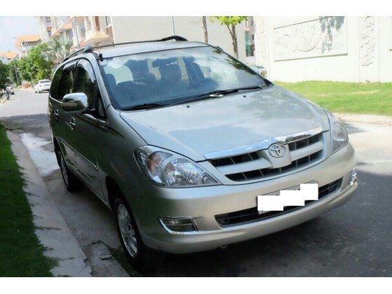 Cần bán lại xe Toyota Innova sản xuất 2006, màu bạc, xe nhập, 455 triệu-6