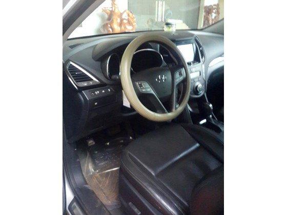 Cần bán lại xe Hyundai Santa Fe sản xuất 2013, màu trắng, xe nhập, xe gia đình-6