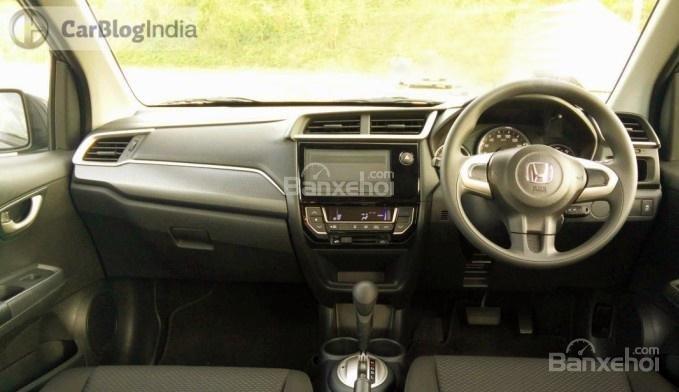Nội thất của Honda BR-V 2016 được chăm chút hơn hẳn so với các mẫu Brio hay Mobilio