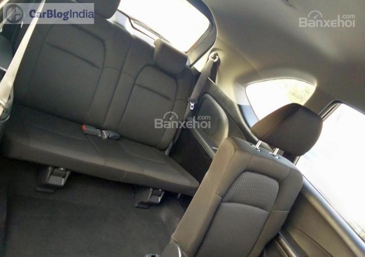 Đánh giá xe Honda BR-V 2016: Hàng ghế thứ 2 và thứ 3 có thể gập linh hoạt.